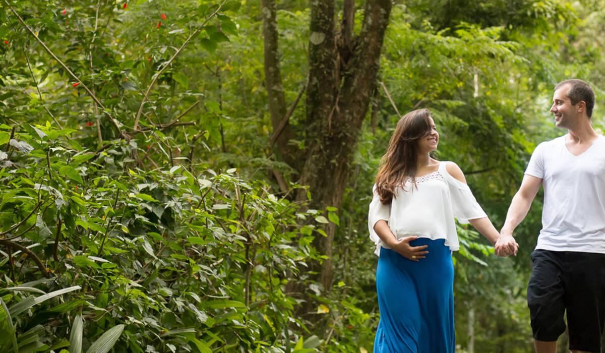 Fotografia de Gestante de Aline e Allan - Esperando Heitor