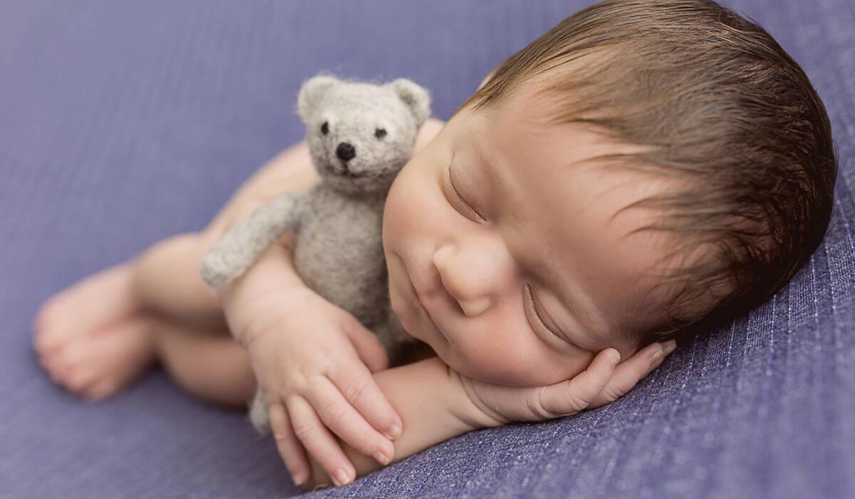Ensaio Newborn de Bento
