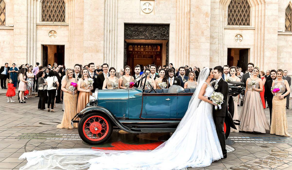 Casamento de Vivian e Maurício