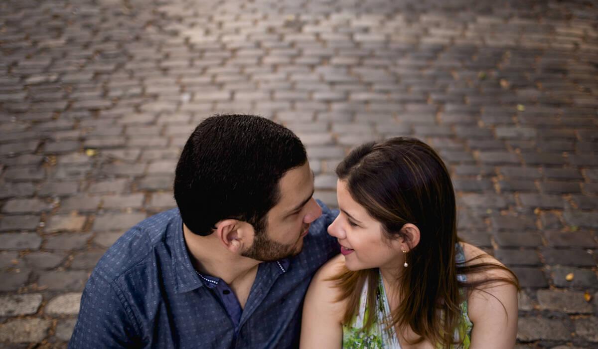 Ensaio de Celina e Lucas