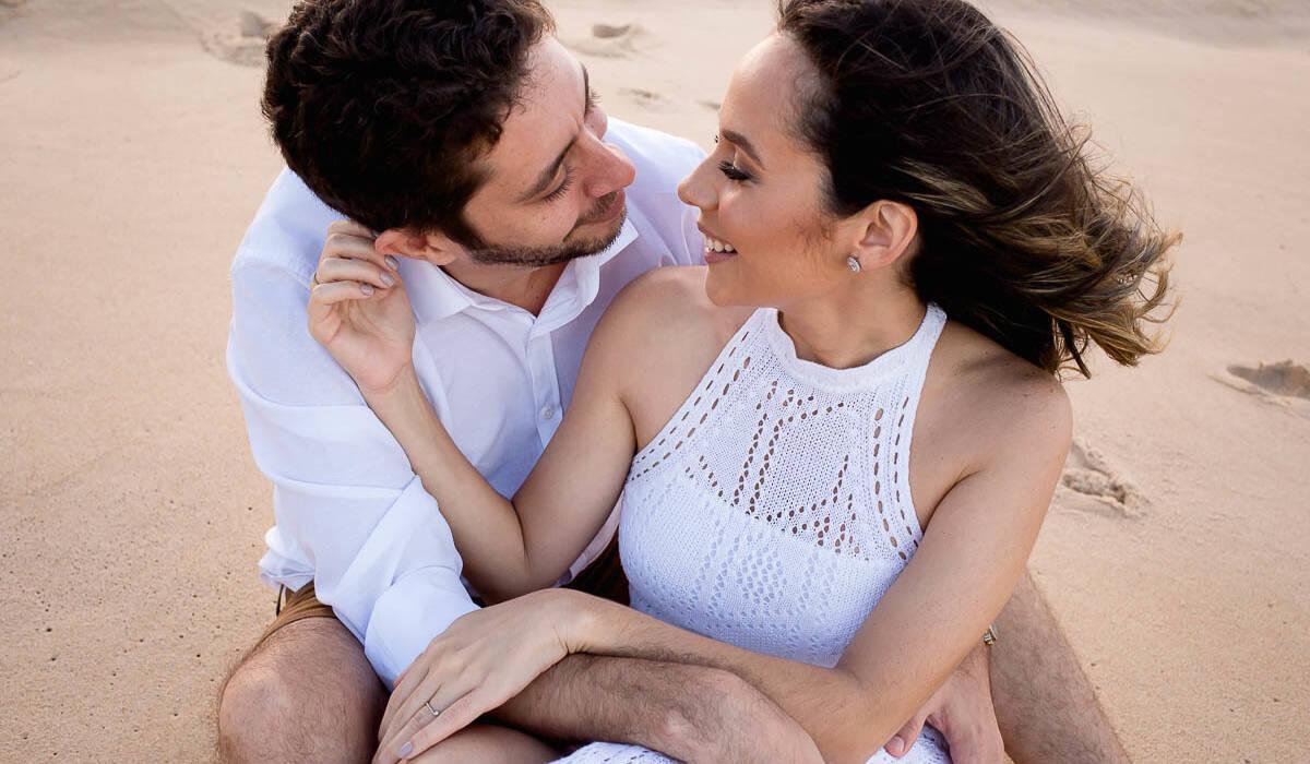 Ensaio de Rebeca e Giuseppe