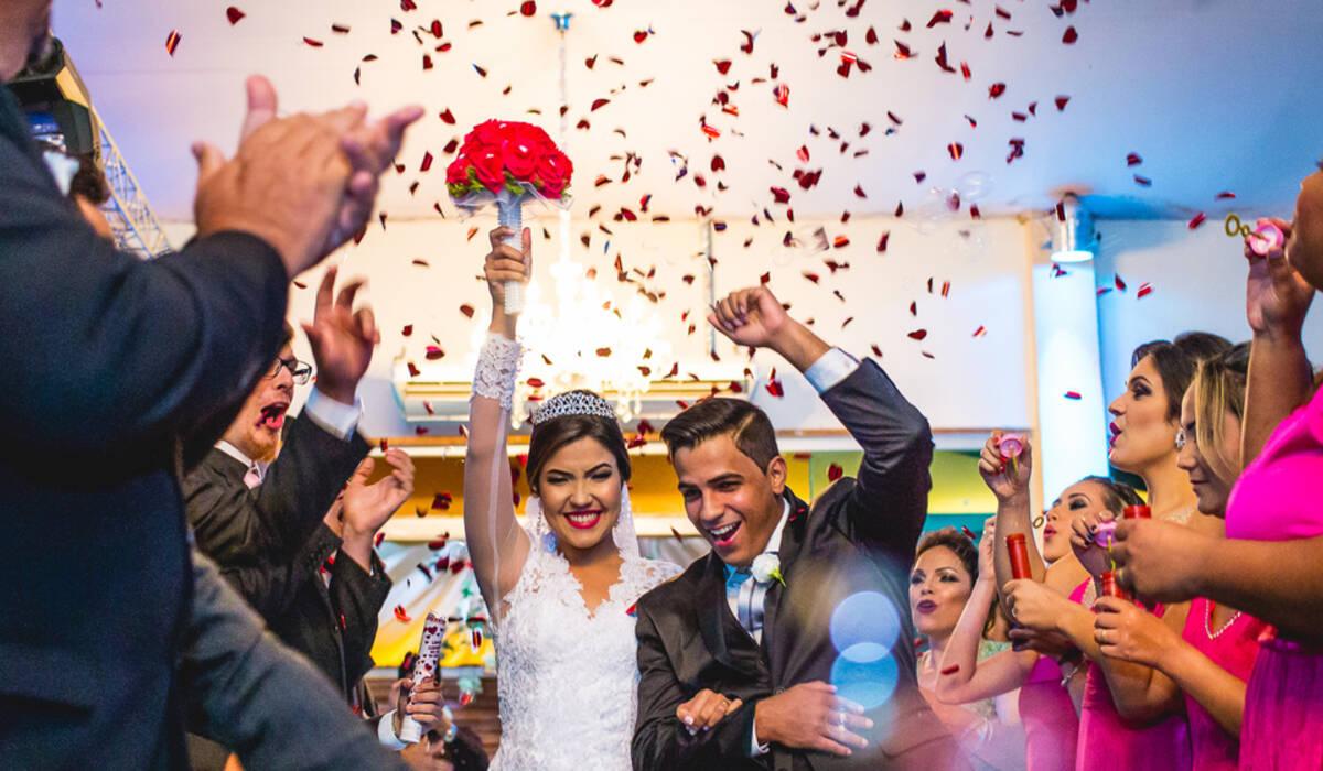 Casamento de Aline e Evandro