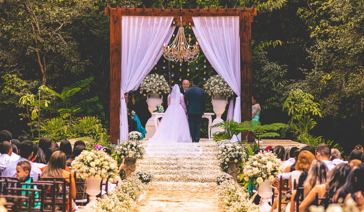 Casamento de Mellody e Harison