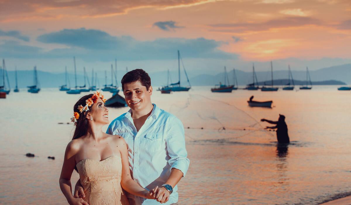 Priscila e Mauricio de