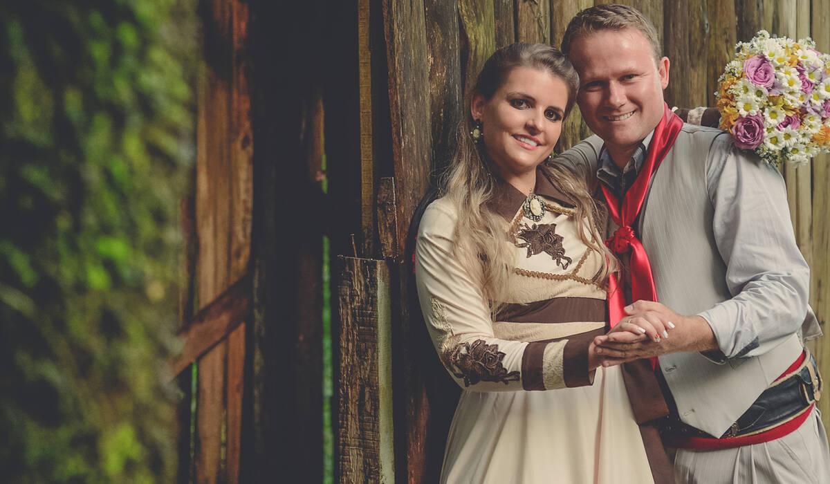 Casamento de Débora e Cristiano