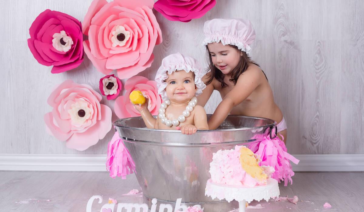 Smash Cake de Carminho