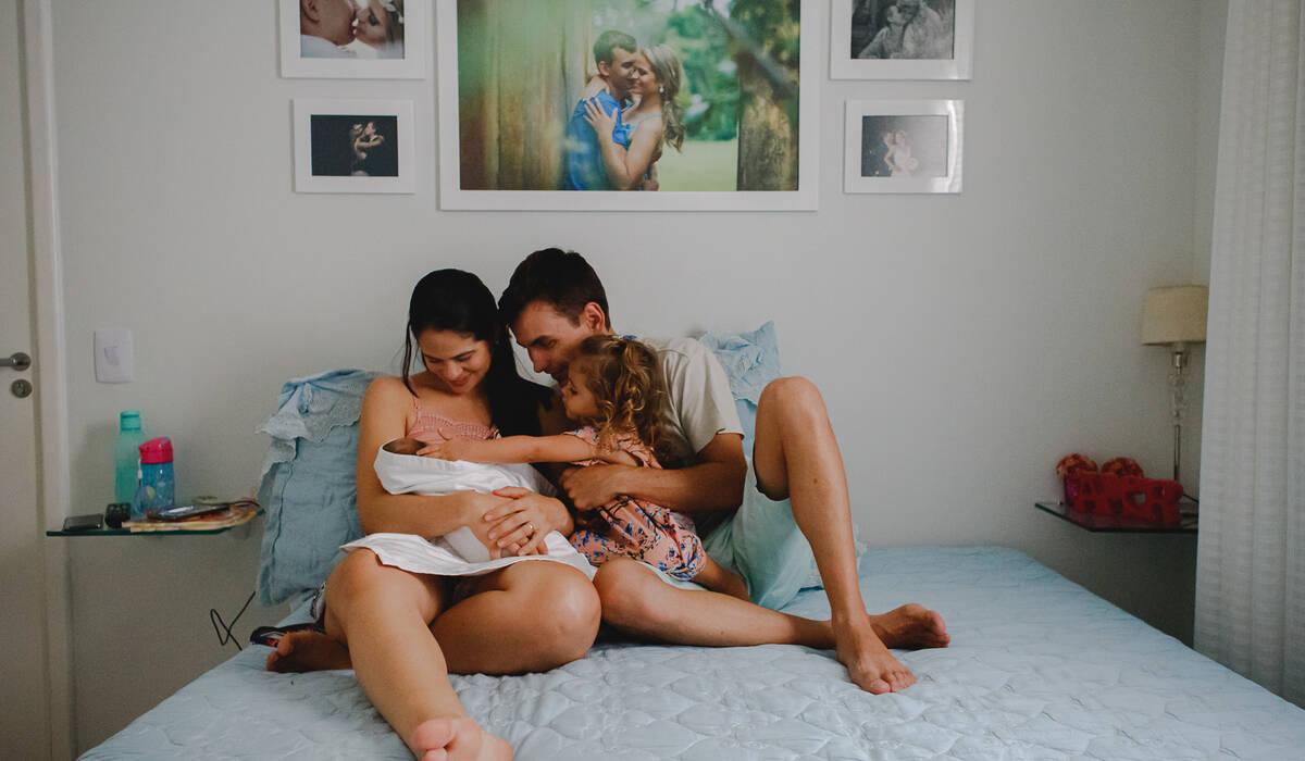 Maternidade de A chegada de Clarice