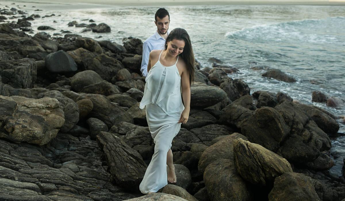 Praia da Baleia - SP de ENSAIO - YASMIM & FELIPE