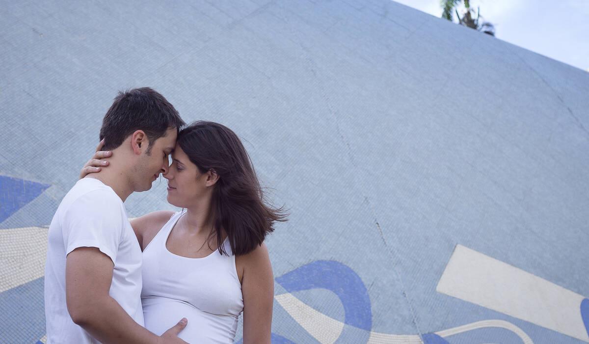 GESTANTE de Luciana + Marcelo + Benjamin