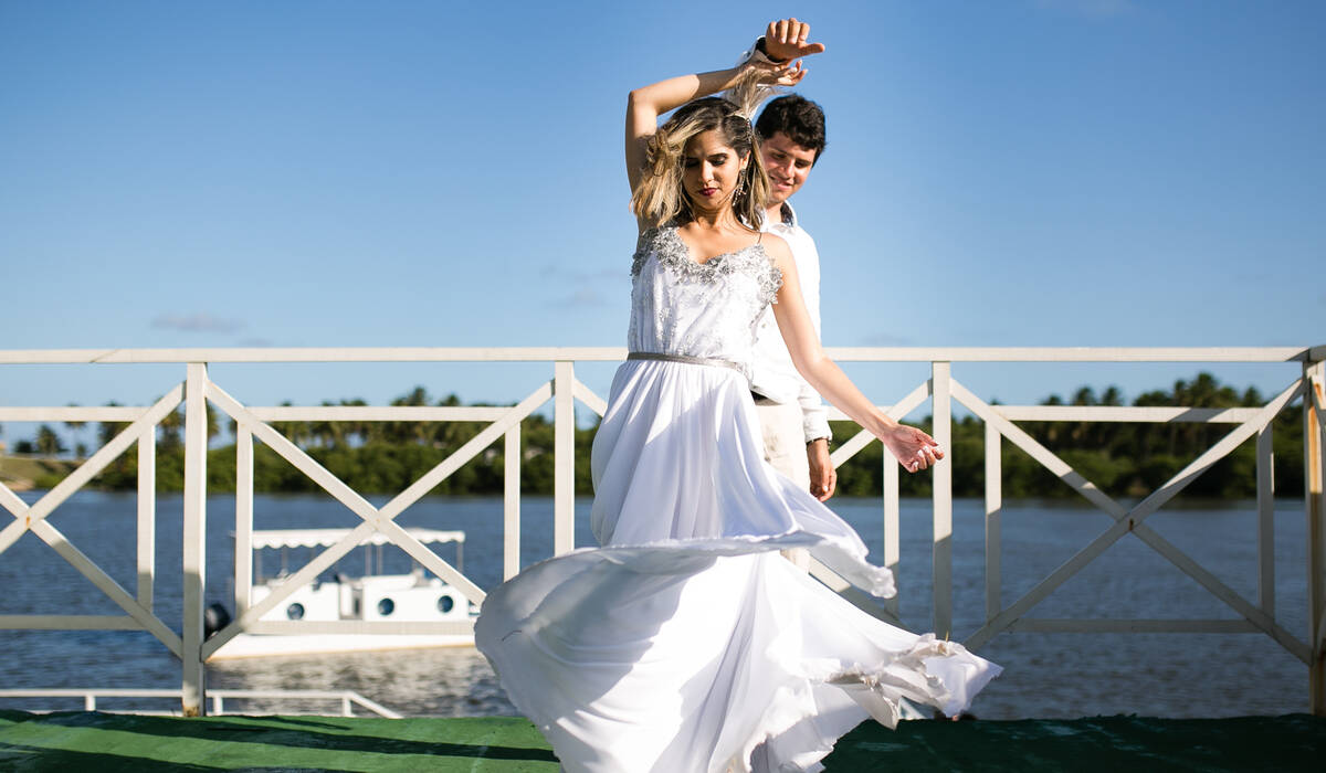 Casamento de Larissa + Robélio