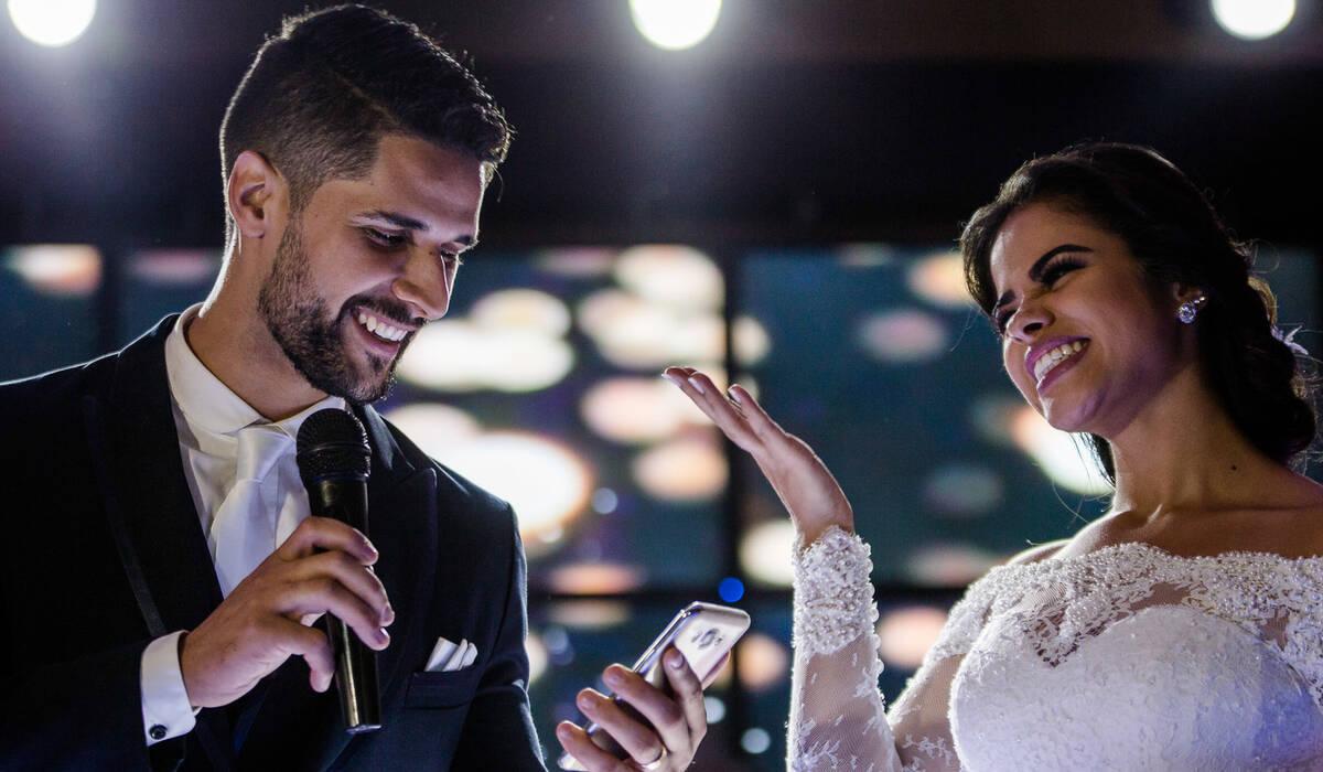 Casamento de S + V