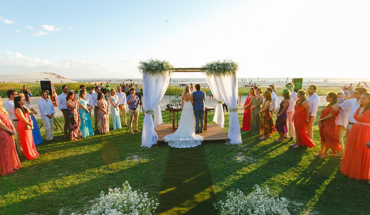 Casamento na Praia de Zazá e Joca