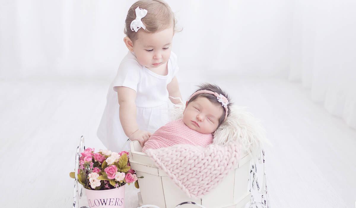 Newborn de Cecília - 10 dias