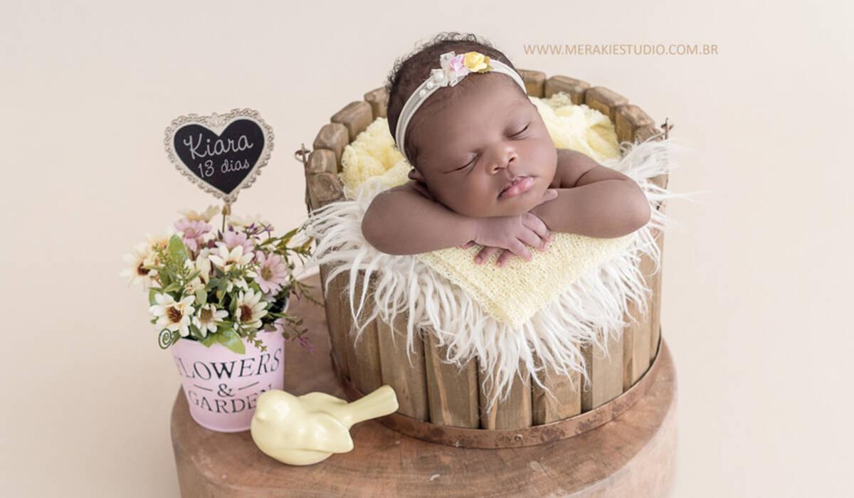 Newborn de Kiara - 13 dias