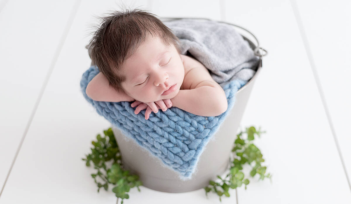 Newborn de Davi - 9 dias