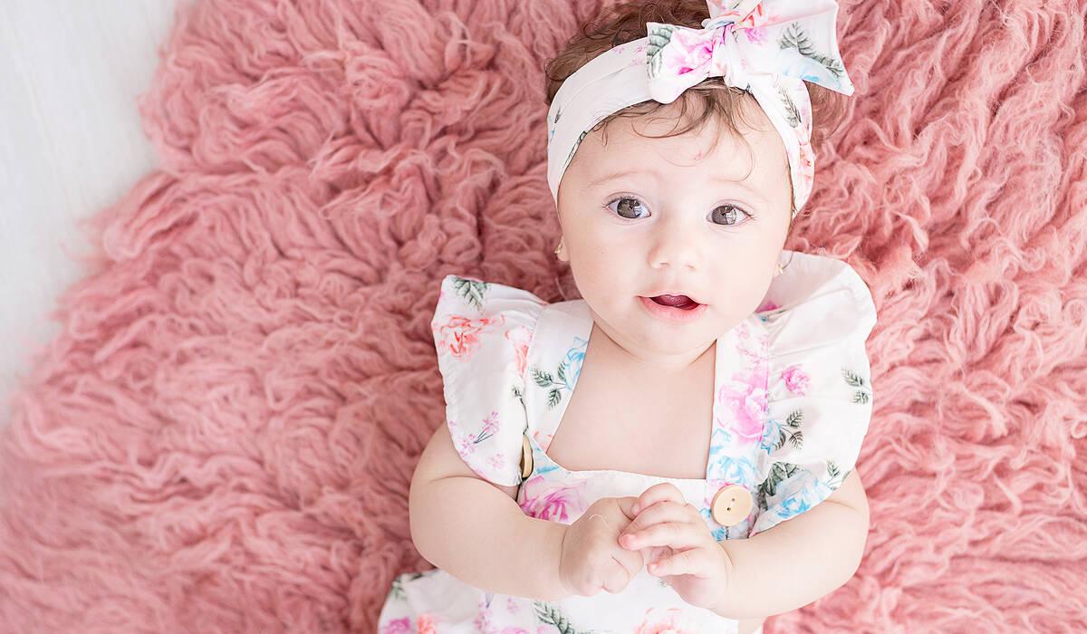 Acompanhamento de Bebês de Lívia - 3 meses