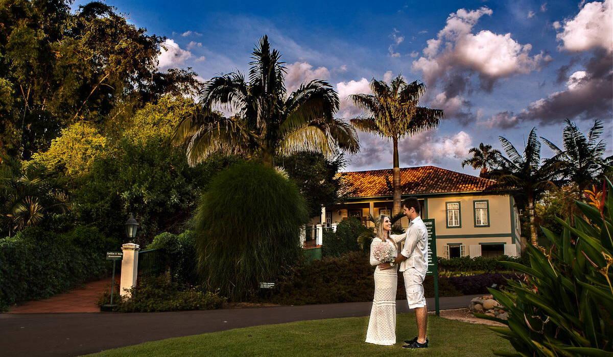 Jardim Botânico Plantarum de Ensaio Pré Wedding