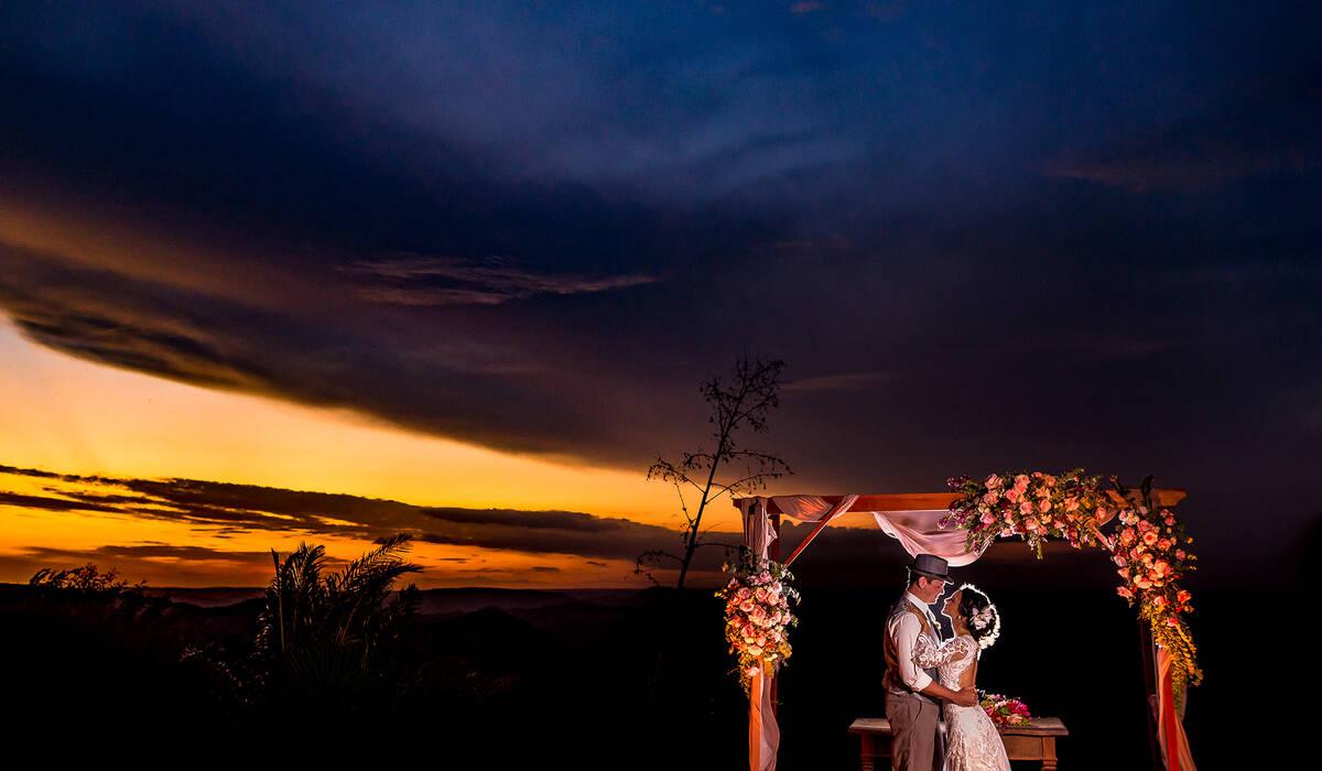 Clara e Tarsis de Wedding day