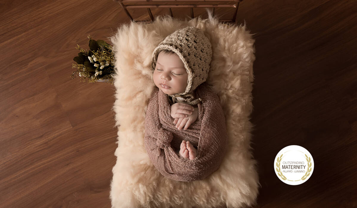 de Foto Premiada pelo Concurso Outstanding Maternity Award