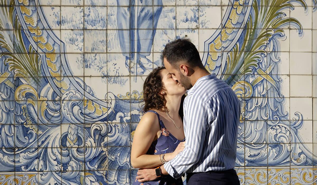 Pré-Casamento de Conte-nos a vossa história.