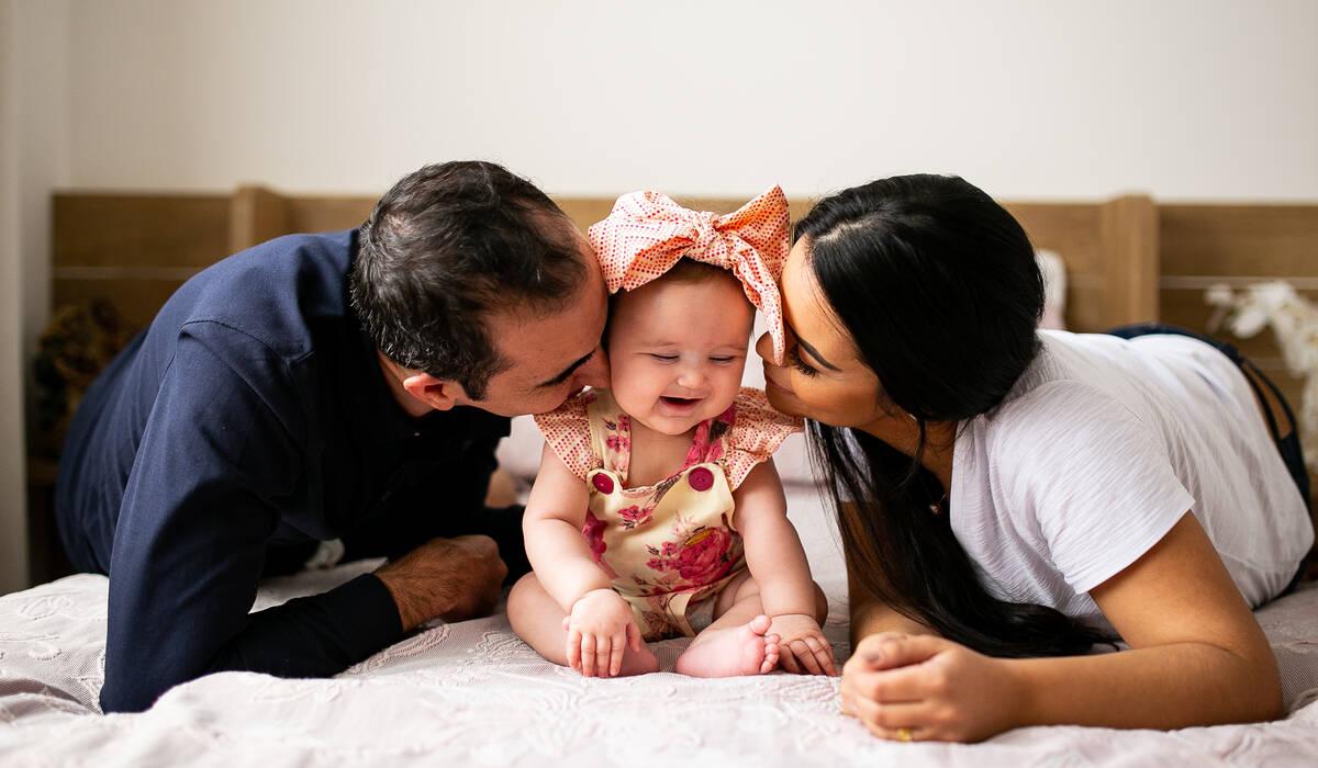 Ensaio de Família de Uma tarde com a pequena Maria!