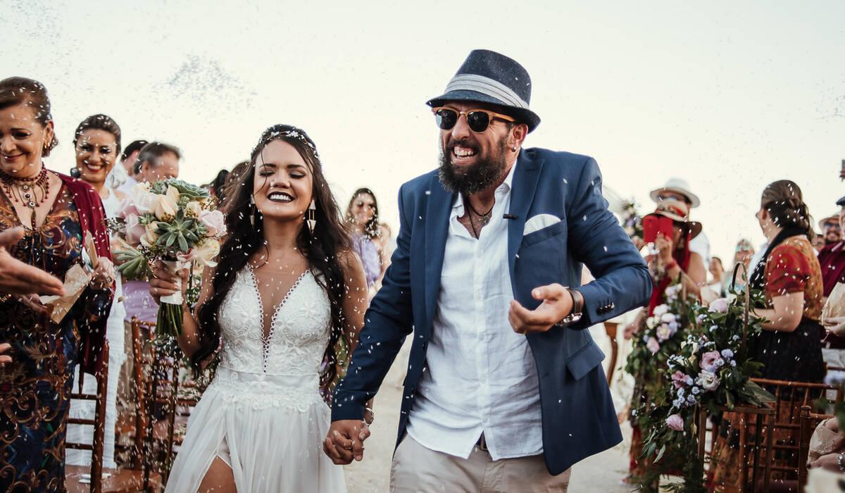 Casamento de Letícia e Batuta