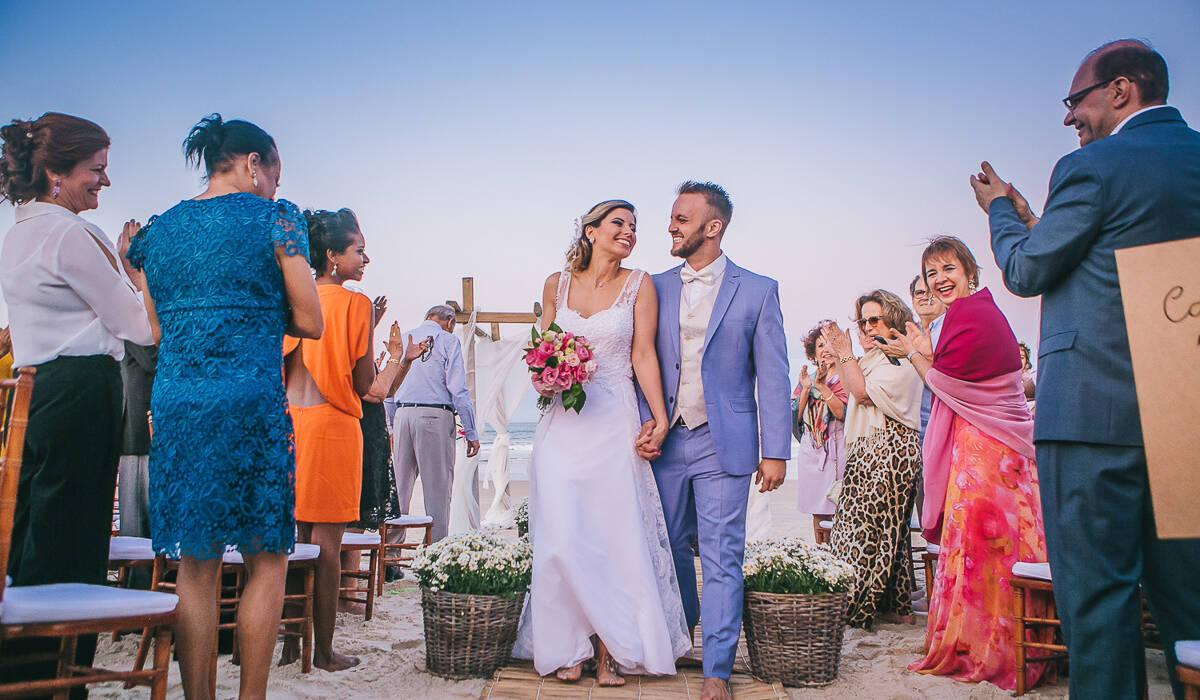 Casamento na Praia de Camila + Richard