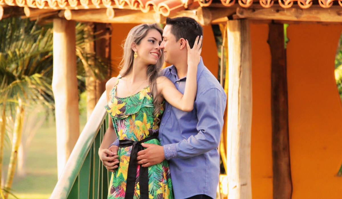 Ensaio Pré Casamento de Rayane e Cleberson