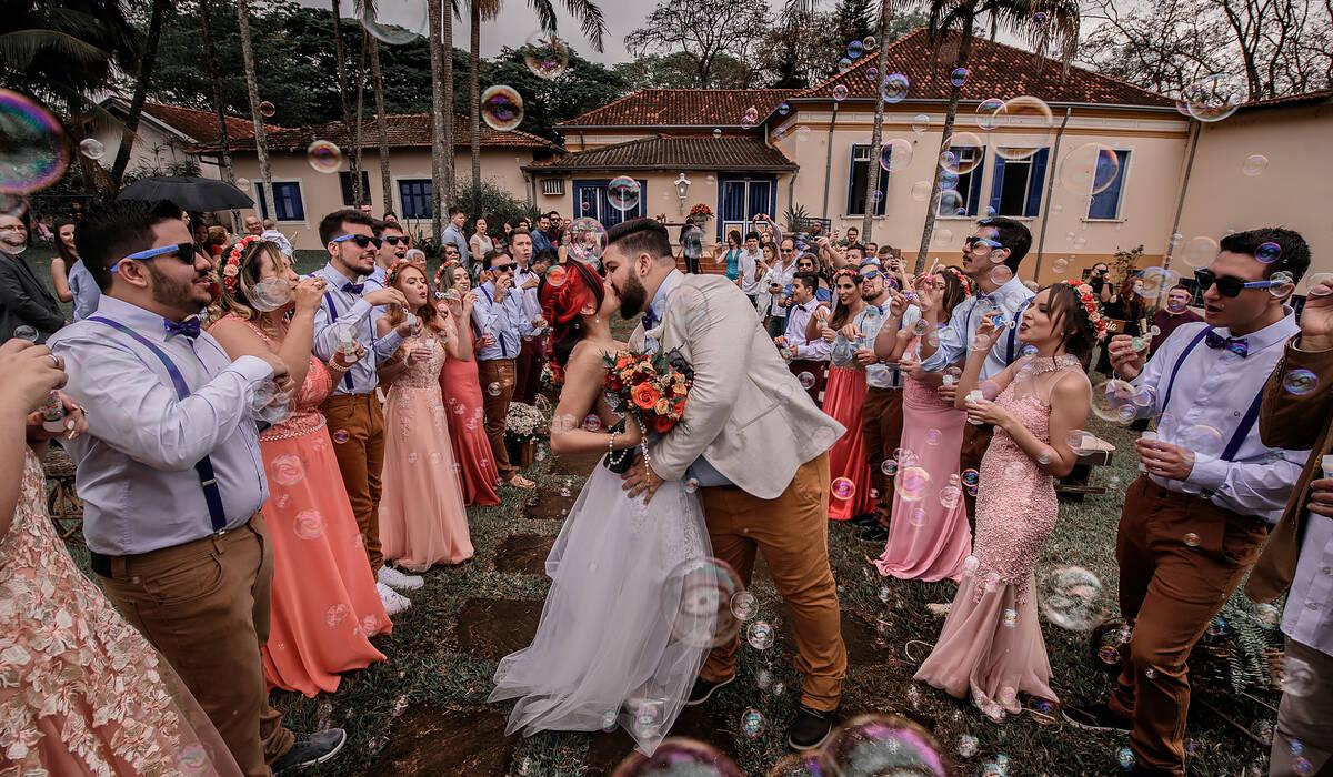 o casamento de: de Jéssica e Gabriel
