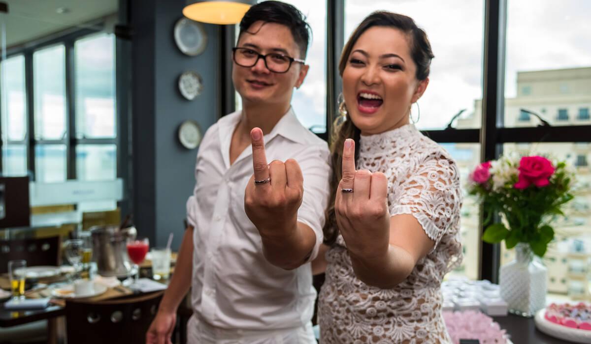 Casamento de Vanessa e William