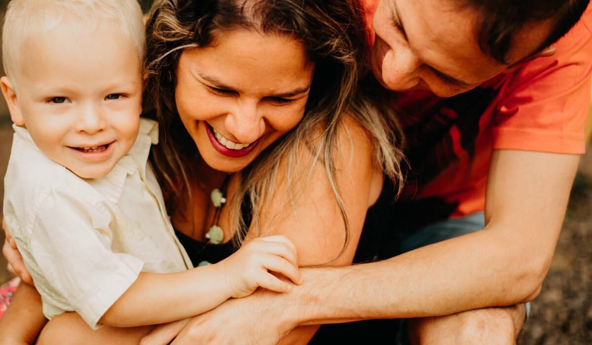 Ensaio Família de Theo + Érika + Cadu