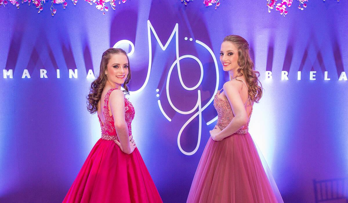 15 anos de Marina e Gabriela Heineck