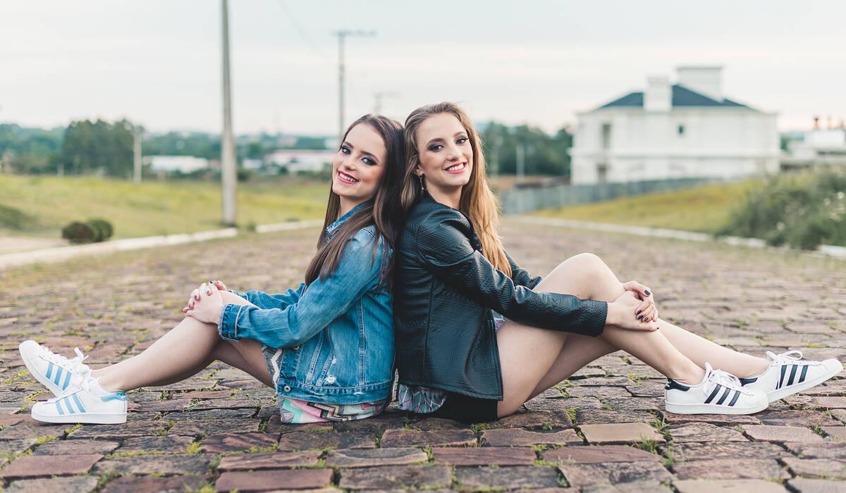 Ensaio de Marina e Gabriela Heineck
