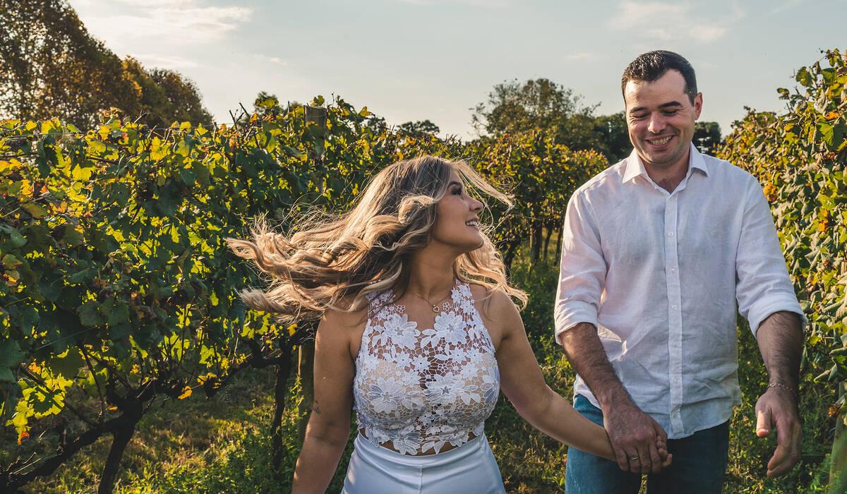 Ensaio Pré Casamento de Daiane e Sandro