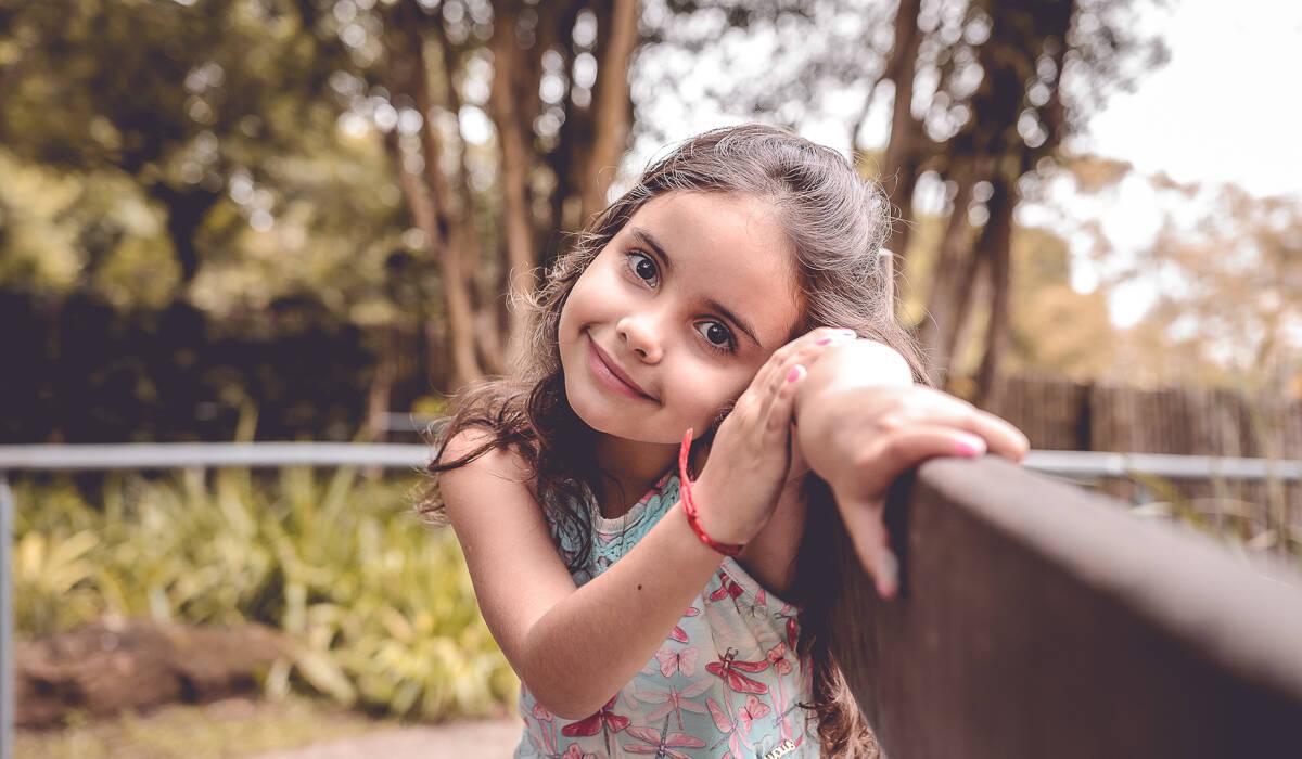Ensaio Infantil da de Yasmin