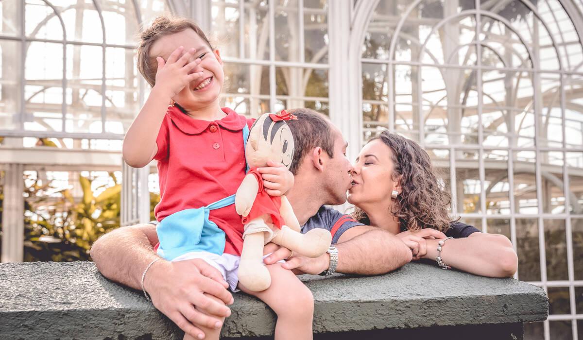 Ensaio de Família de Melina + Arthur + Fernanda