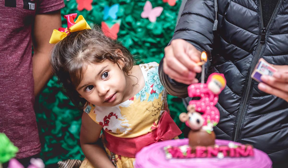 Fotografia Festa Infantil Curitiba de Valentina