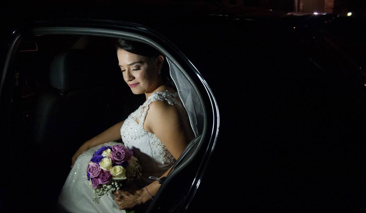 Marina e Wanderson de Cerimônia de Casamento