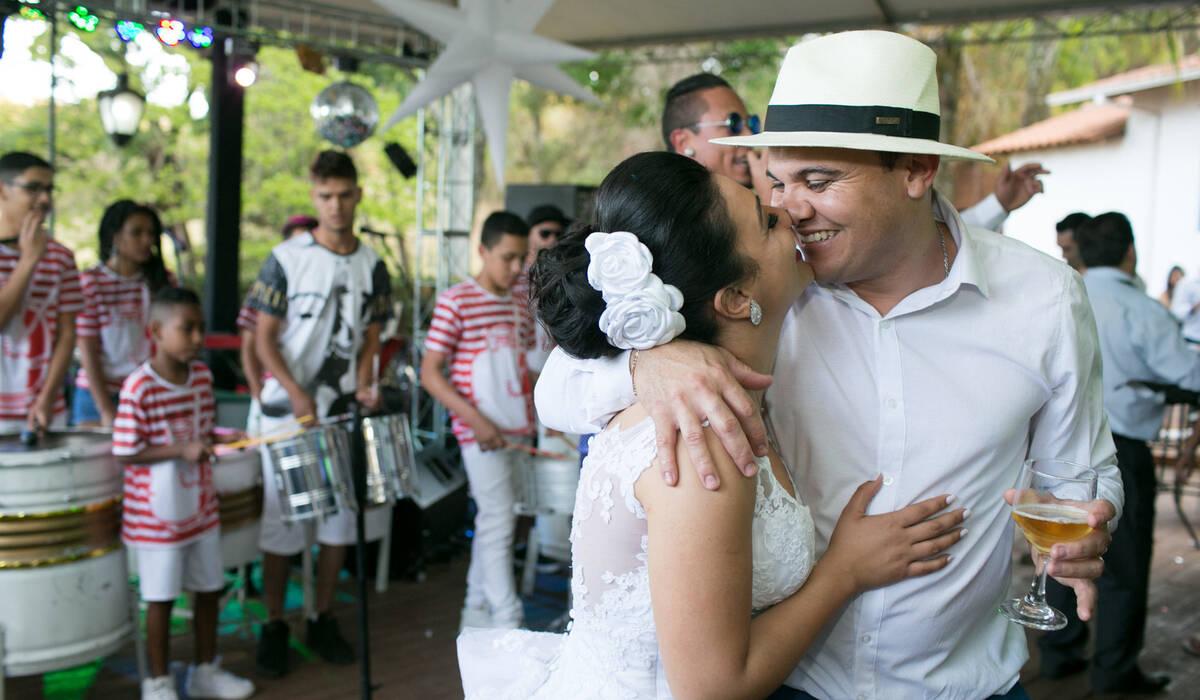Juliana & Fábio de Recepção de Casamento