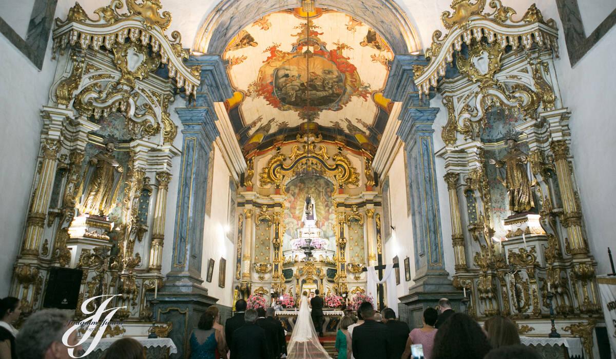 Cerimônia Religiosa de Hellen & João Paulo