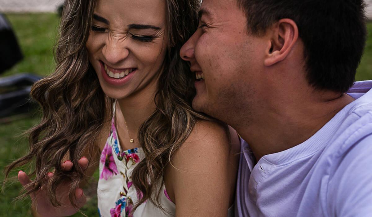 Ensaio Casal de Carla e Raul