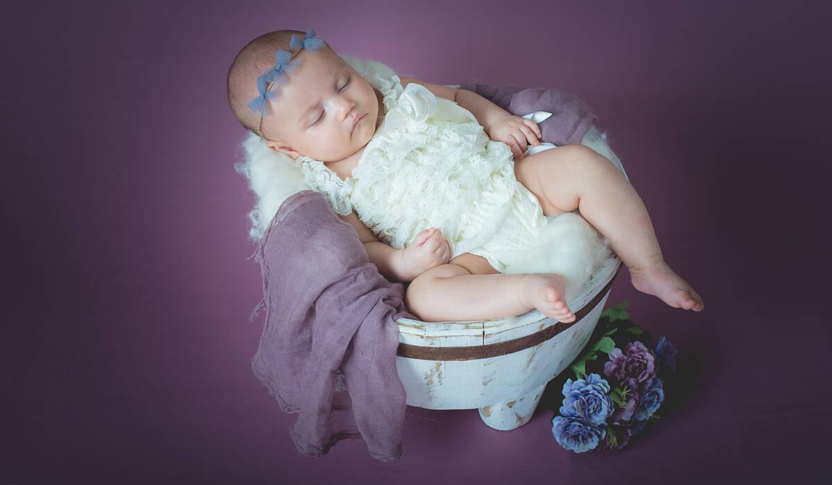 Ensaio Bebê de Beatriz 3 meses