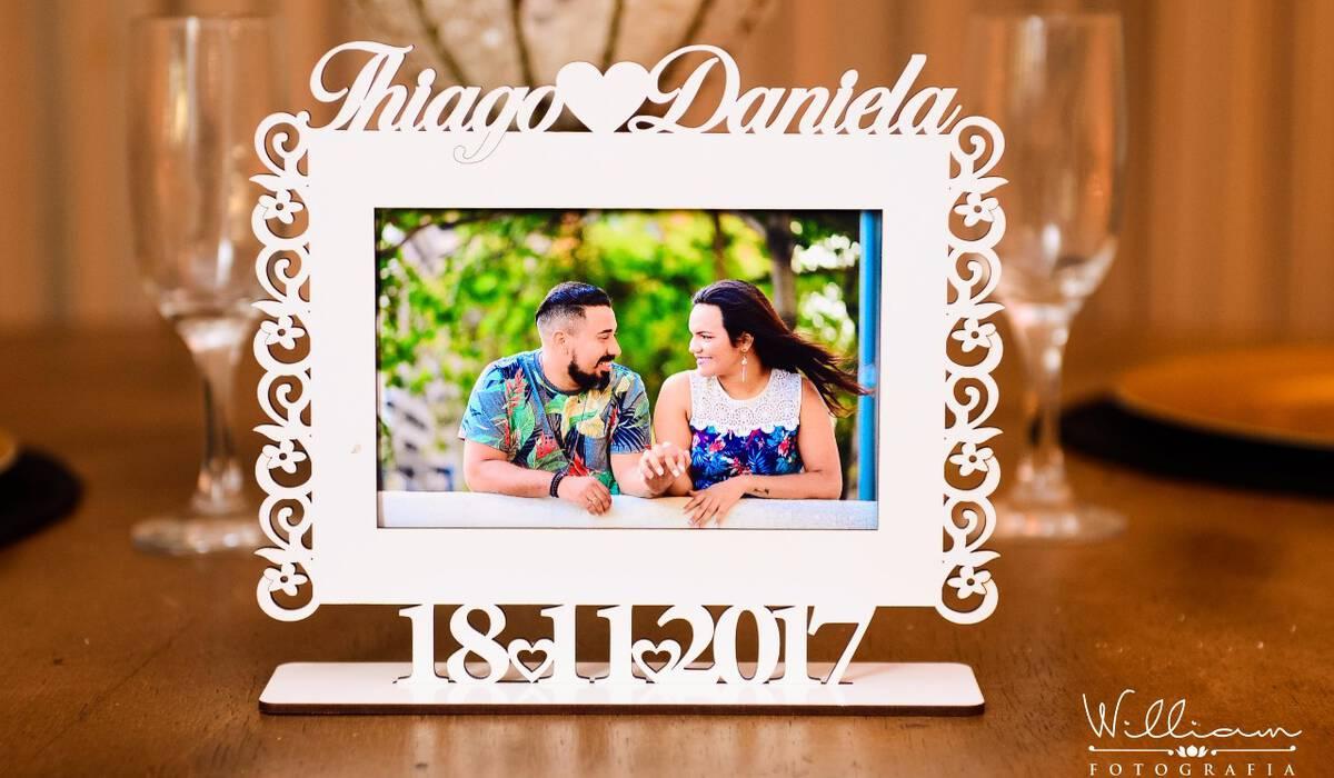 CASAMENTO de DANIELA E THIAGO