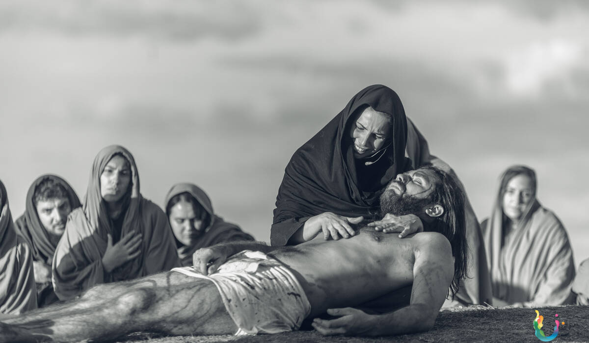 Semana Santa 2019 de Paixão e Morte de Jesus Cristo