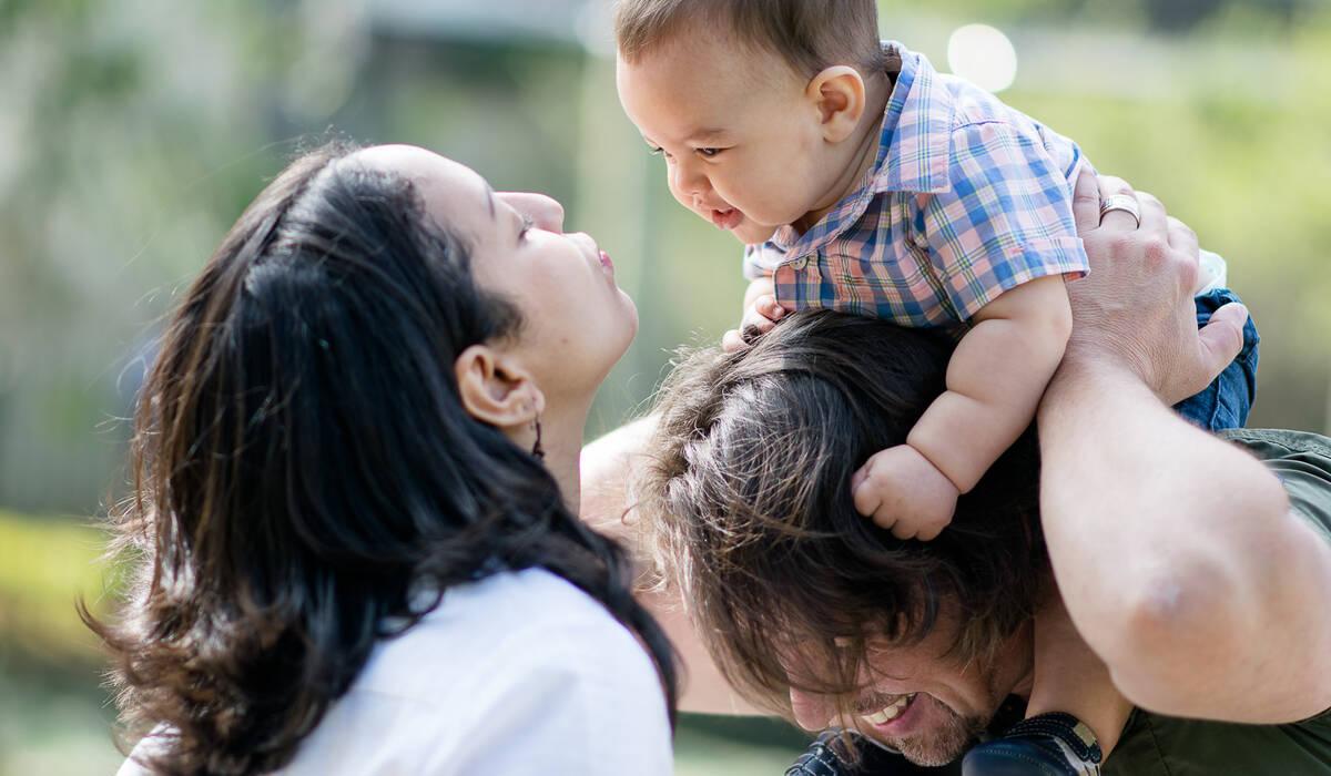 Lifestyle de Fotografia de família