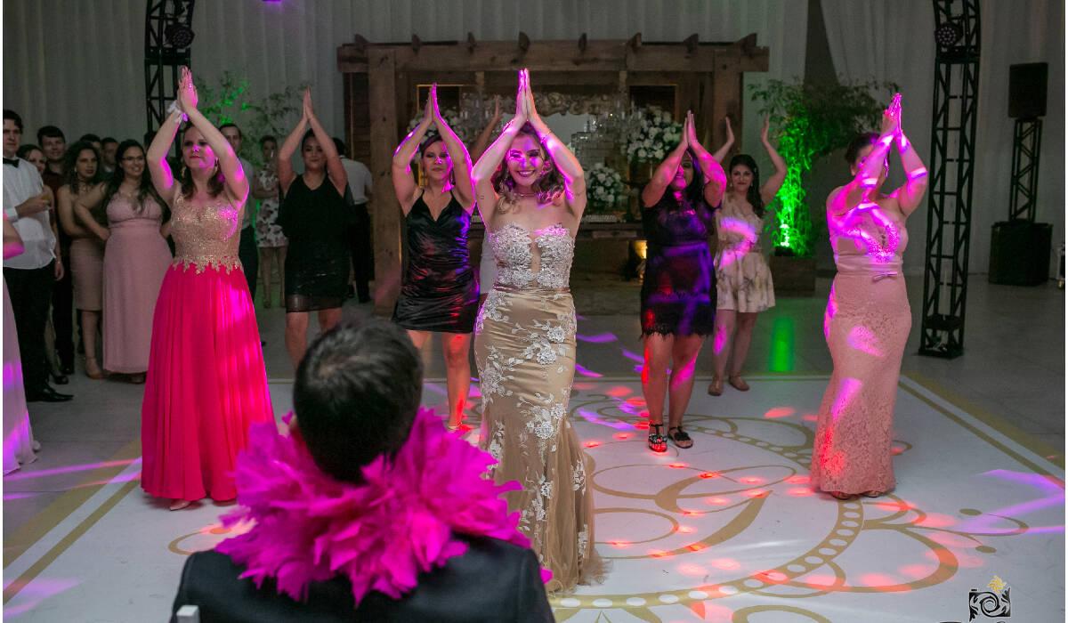 de Dança para o noivo