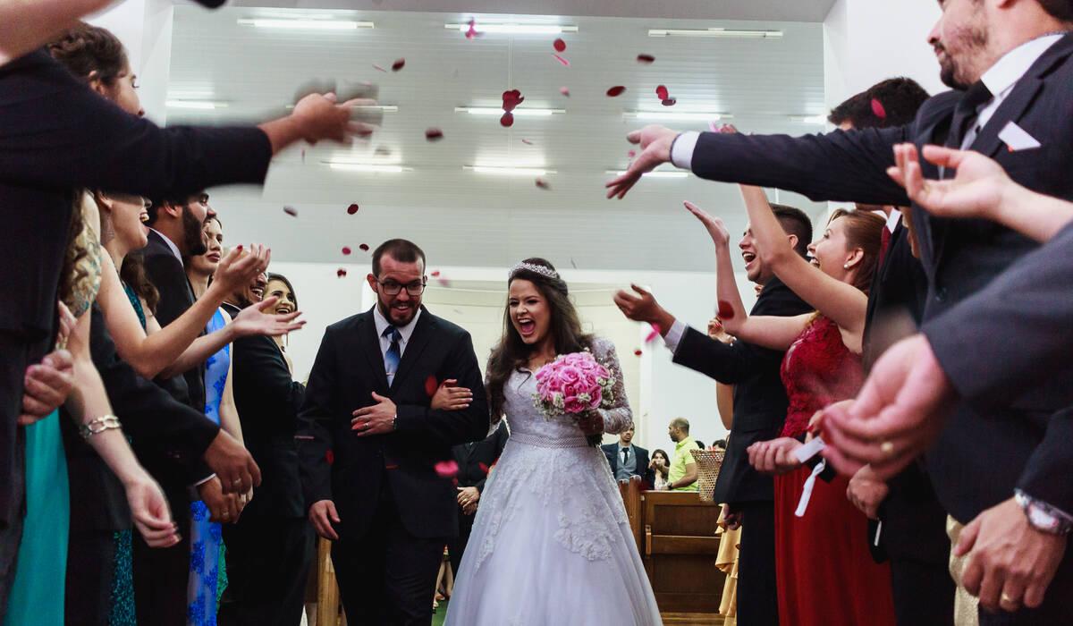 Casamento de E + F