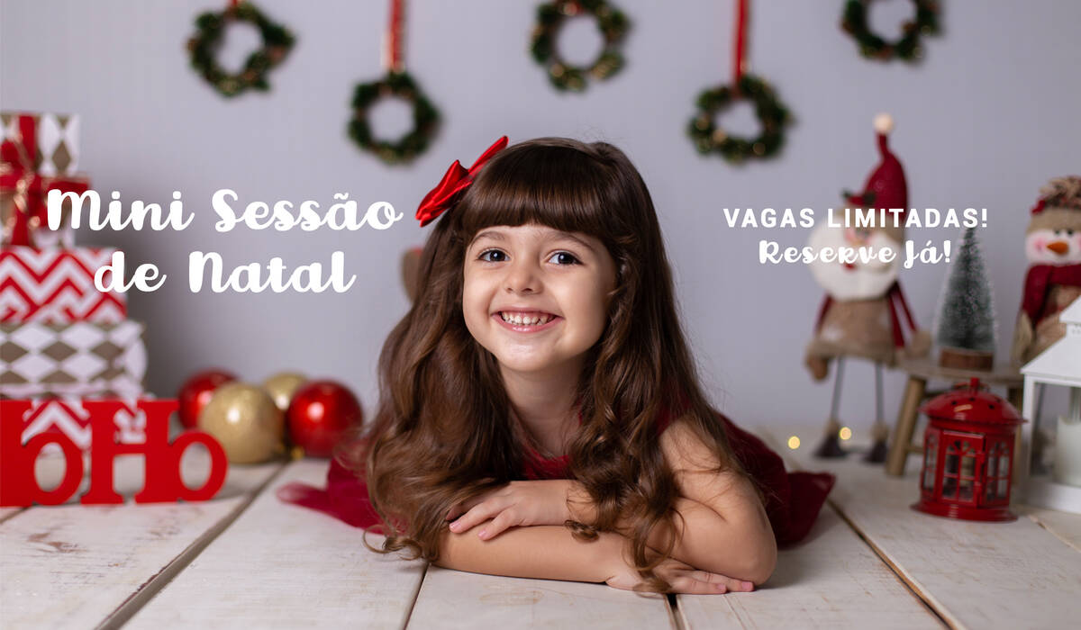 de MINI SESSÃO DE NATAL 2018