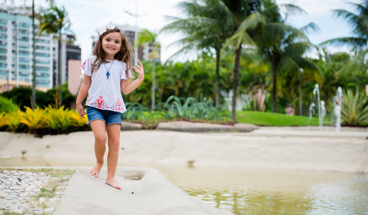 Ensaio Infantil de Ensaio 4 anos Luísa