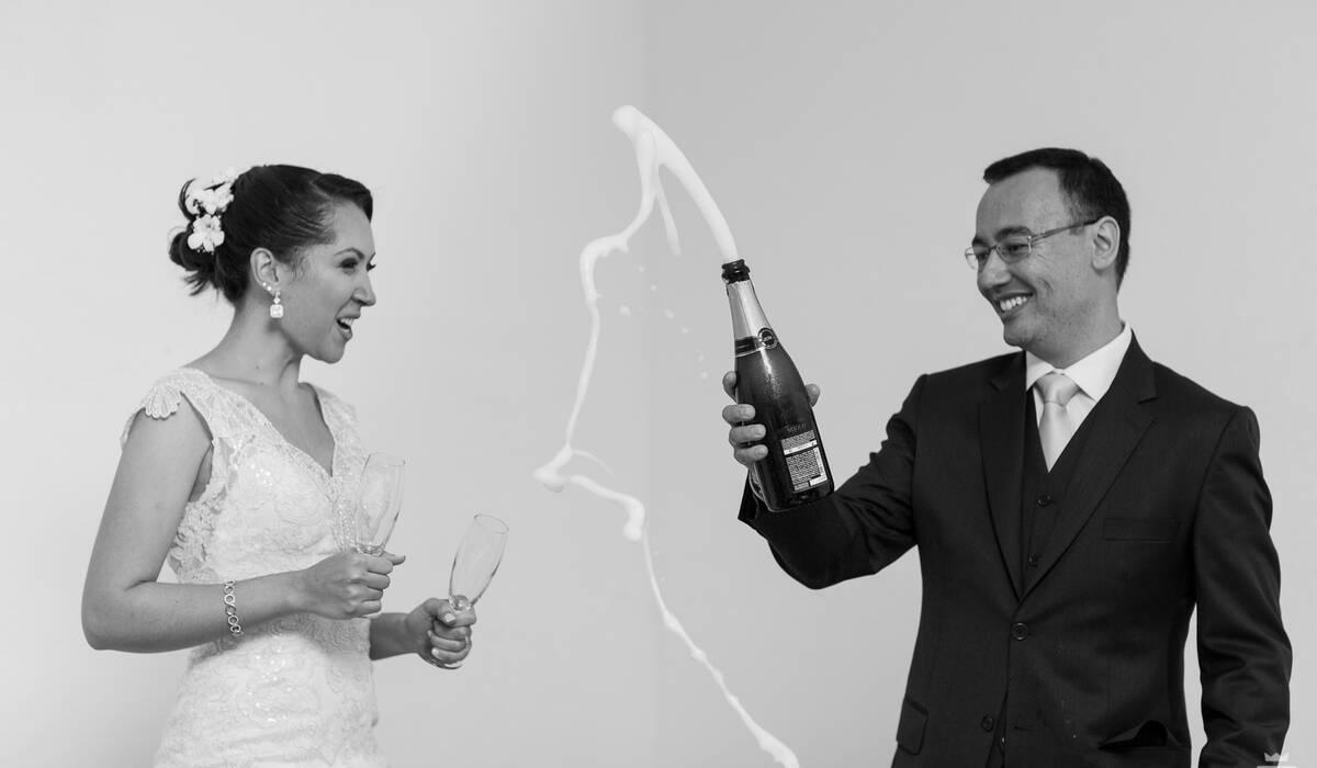 Casamento no Campo de Marina e Everton